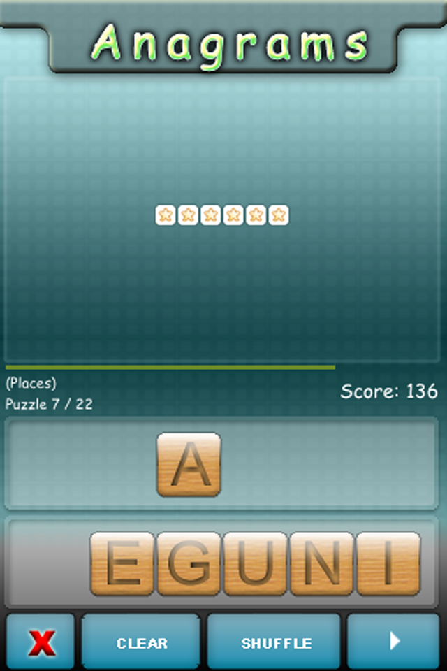 Screenshot Anagrams HD – iBrain