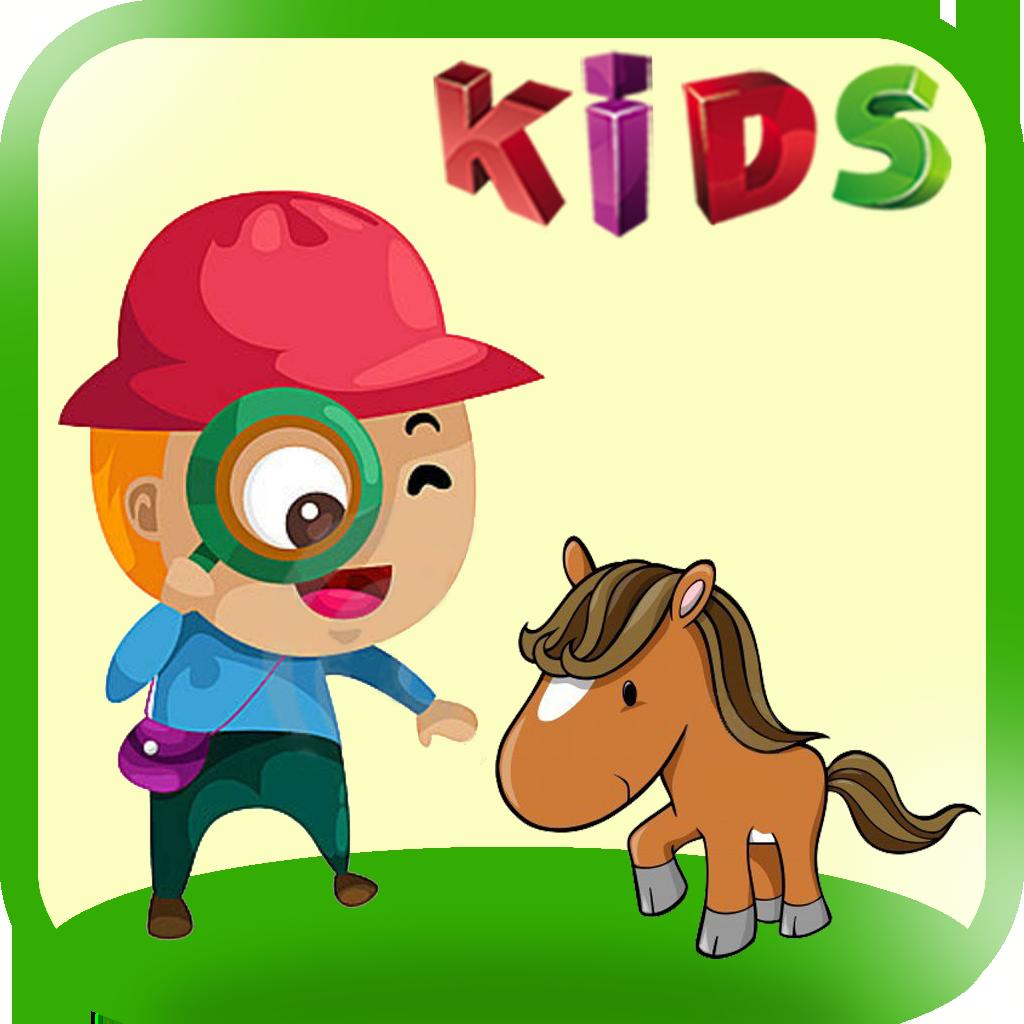 学习动物 - 3,在教育孩子游戏的声音和图片!